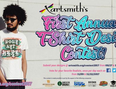 artsmith tshirt contest facebook 2017