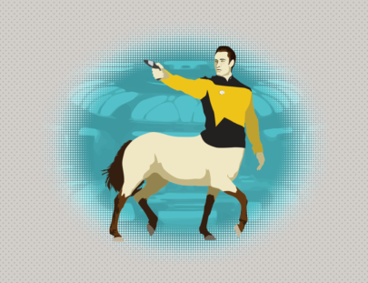 illustration Data Centaur