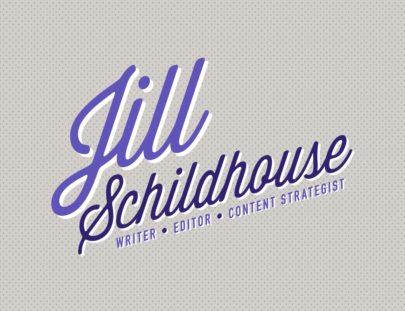 Jill Schildhouse Logo Writer Editor Content Strategist